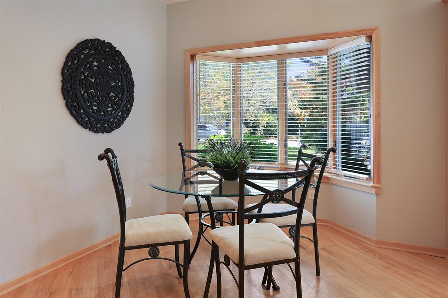 Real Estate Photography - 5040 Malibu Drive, Edina, MN, 55436 - Breakfast Area