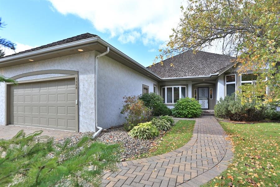 Real Estate Photography - 5040 Malibu Drive, Edina, MN, 55436 - Front View