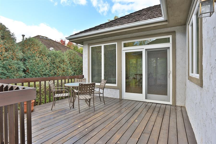 Real Estate Photography - 5040 Malibu Drive, Edina, MN, 55436 - Deck
