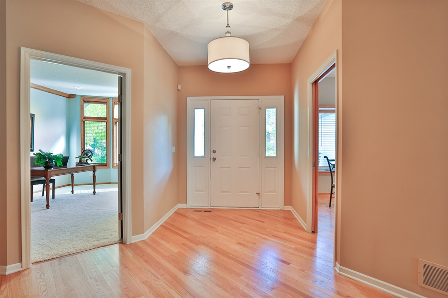 Real Estate Photography - 5040 Malibu Drive, Edina, MN, 55436 - Entryway
