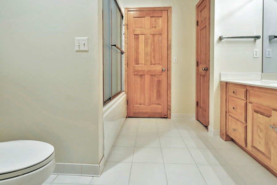Real Estate Photography - 5040 Malibu Drive, Edina, MN, 55436 - 2nd Bathroom