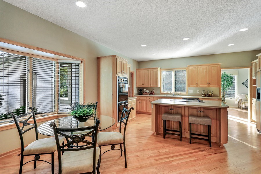 Real Estate Photography - 5040 Malibu Drive, Edina, MN, 55436 - Kitchen / Dining Room