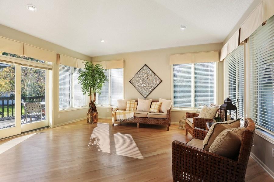 Real Estate Photography - 5040 Malibu Drive, Edina, MN, 55436 - Sunroom