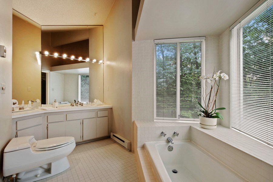 Real Estate Photography - 5655 Juneau Ln N, Plymouth, MN, 55446 - Master Bathroom