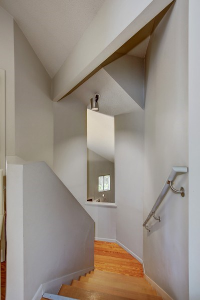 Real Estate Photography - 5655 Juneau Ln N, Plymouth, MN, 55446 - Staircase