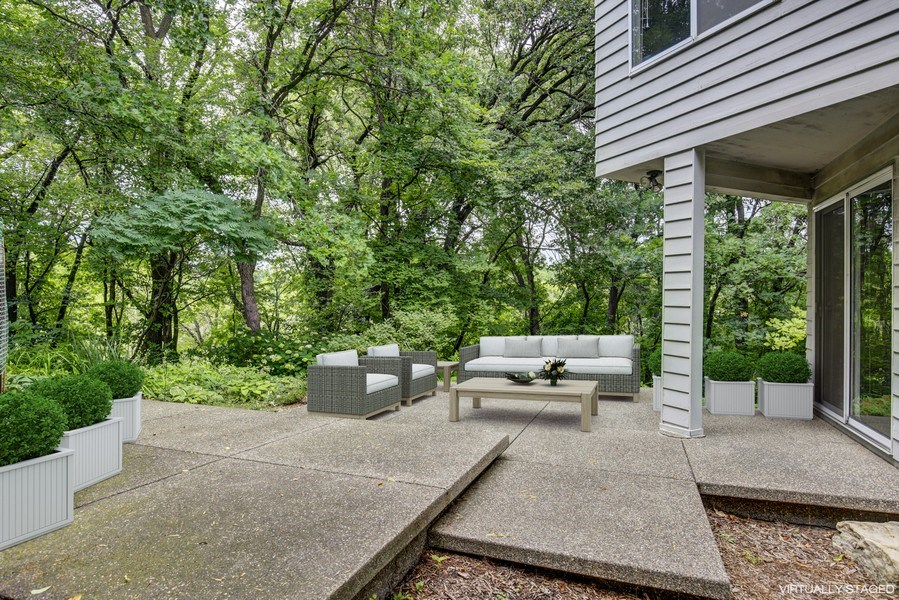 Real Estate Photography - 5655 Juneau Ln N, Plymouth, MN, 55446 - Patio