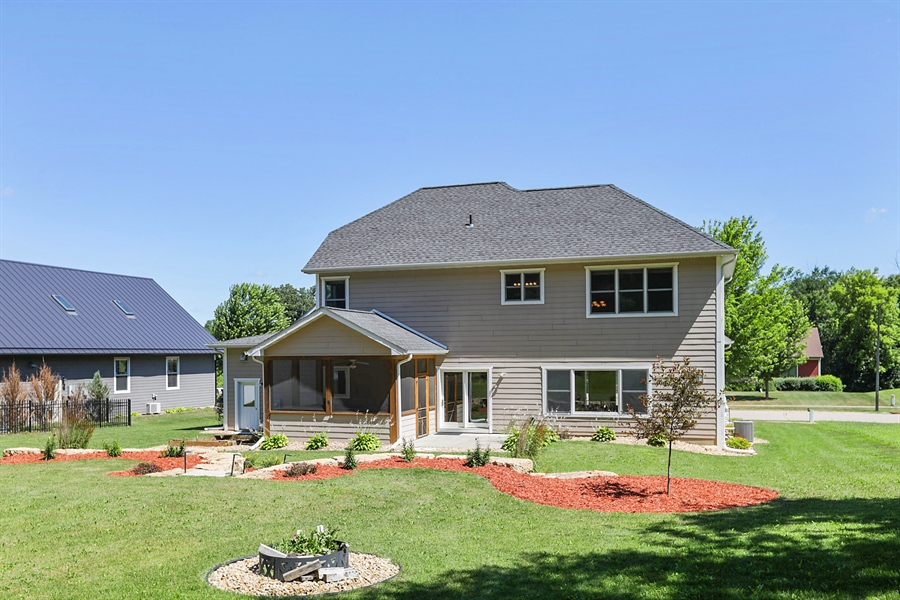 Real Estate Photography - 5569 Cannondale Ct, Red Wing, MN, 55066 - Rear View