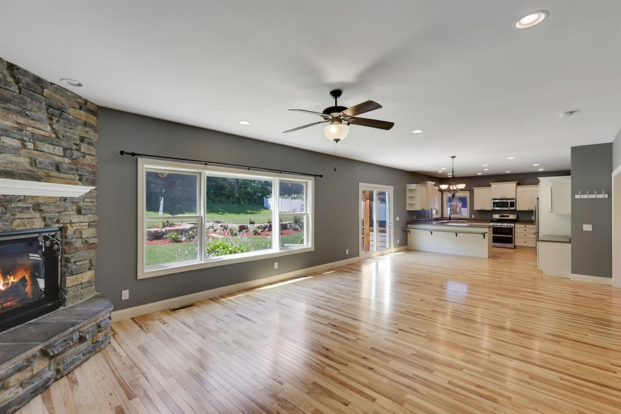 Real Estate Photography - 5569 Cannondale Ct, Red Wing, MN, 55066 - Kitchen/Living