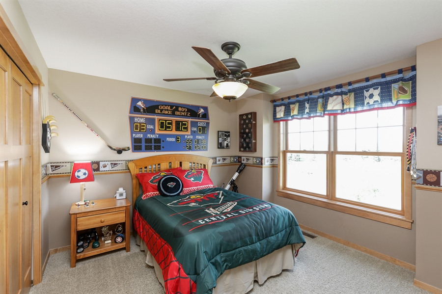 Real Estate Photography - 14247 209th St. N., Scandia, MN, 55073 - 2nd Bedroom