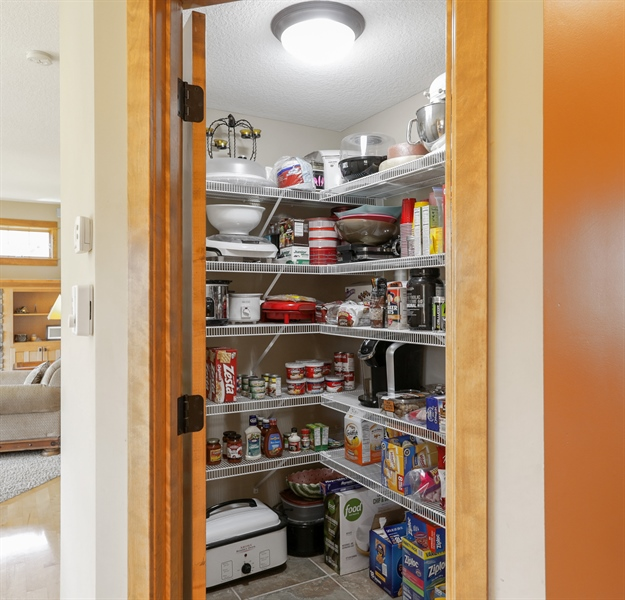Real Estate Photography - 14247 209th St. N., Scandia, MN, 55073 - Pantry