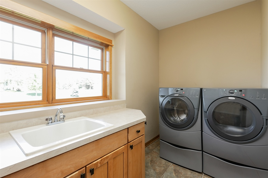 Real Estate Photography - 14247 209th St. N., Scandia, MN, 55073 - Laundry Room