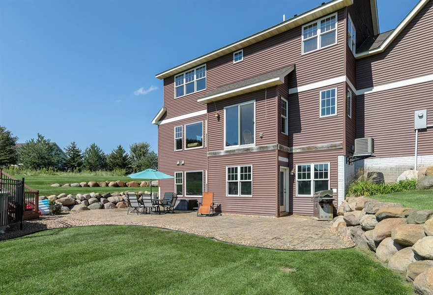 Real Estate Photography - 14247 209th St. N., Scandia, MN, 55073 - Patio