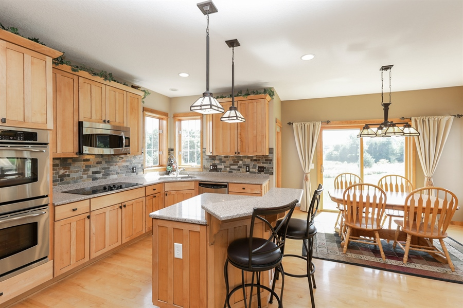 Real Estate Photography - 14247 209th St. N., Scandia, MN, 55073 - Kitchen / Dining Room