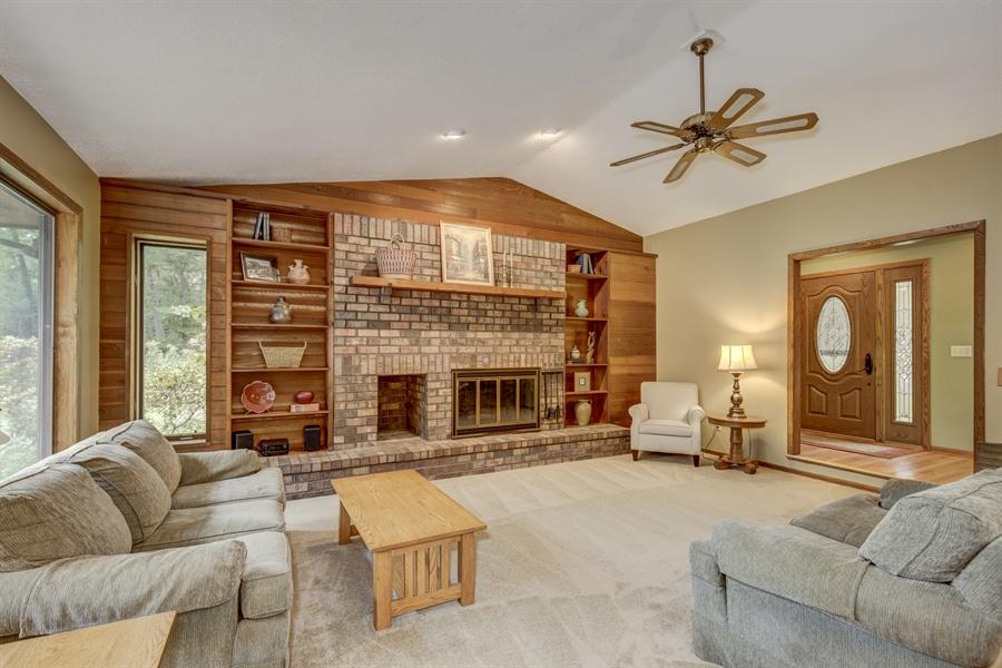 Real Estate Photography - 12529 Danbury Way, Rosemount, MN, 55068 - Living Room