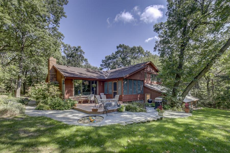 Real Estate Photography - 12529 Danbury Way, Rosemount, MN, 55068 - Rear View