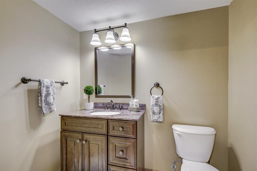 Real Estate Photography - 12529 Danbury Way, Rosemount, MN, 55068 - 2nd Bathroom
