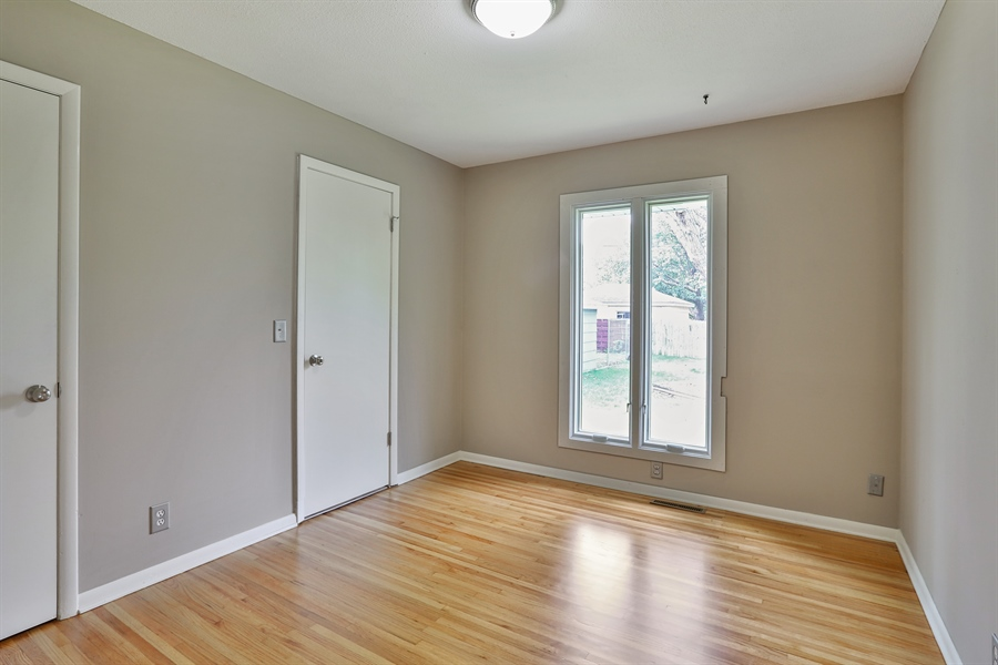 Real Estate Photography - 6225 France Ave N, Brooklyn Center, MN, 55429 - 2nd Bedroom
