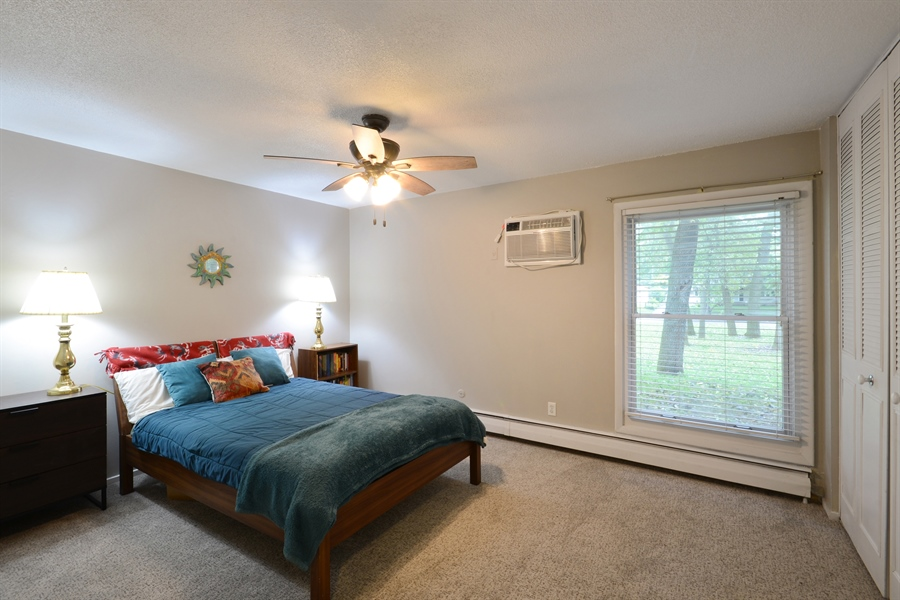 Real Estate Photography - 2800 Hamline Ave. N., 122, Roseville, MN, 55113 - Master Bedroom