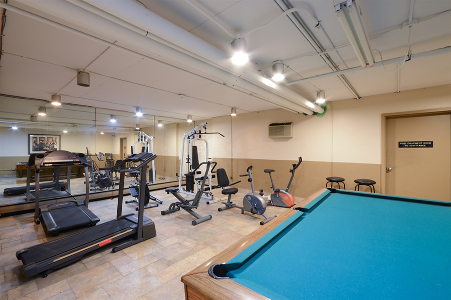 Real Estate Photography - 2800 Hamline Ave. N., 122, Roseville, MN, 55113 - Exercise Room