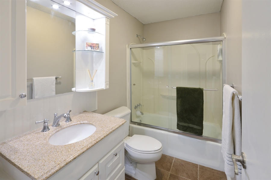 Real Estate Photography - 2800 Hamline Ave. N., 122, Roseville, MN, 55113 - Bathroom