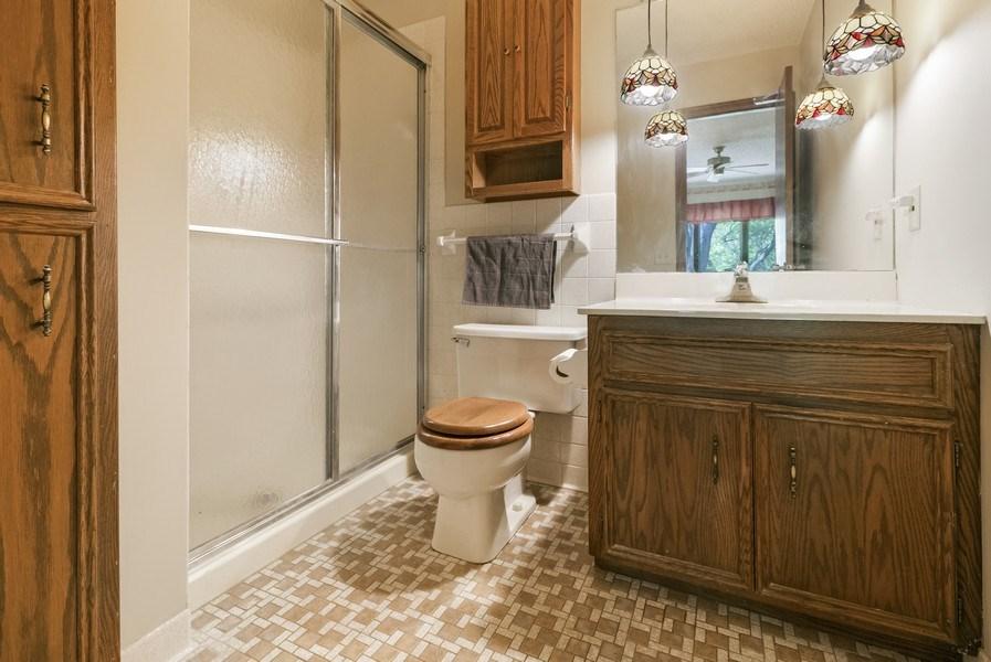 Real Estate Photography - 13421 Penn Ave S, Burnsville, MN, 55337 - Master Bathroom