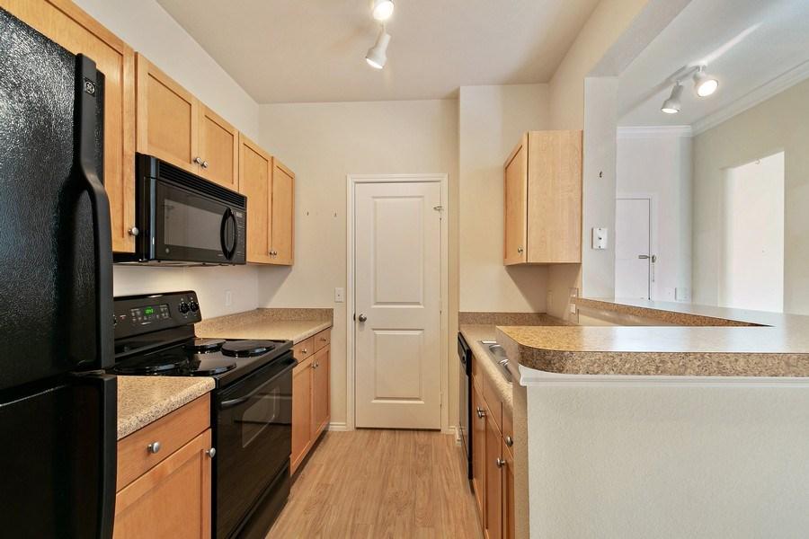 Real Estate Photography - 13570 Technology Dr, Unit 2216, Eden Prairie, MN, 55344 - Kitchen