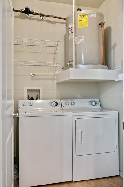 Real Estate Photography - 13570 Technology Dr, Unit 2216, Eden Prairie, MN, 55344 - Laundry Room