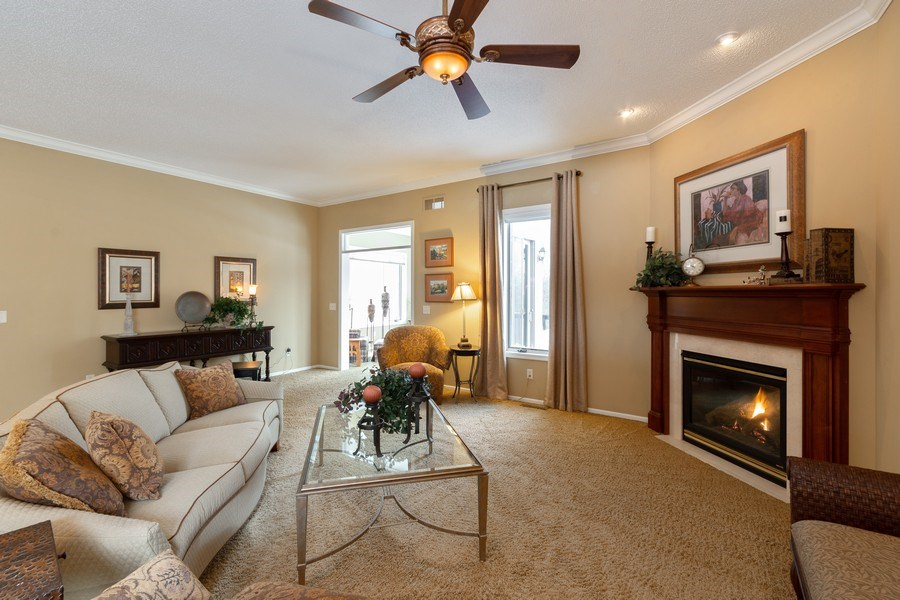 Real Estate Photography - 11860 Germaine Terrace, Eden Prairie, MN, 55347 - Living Room