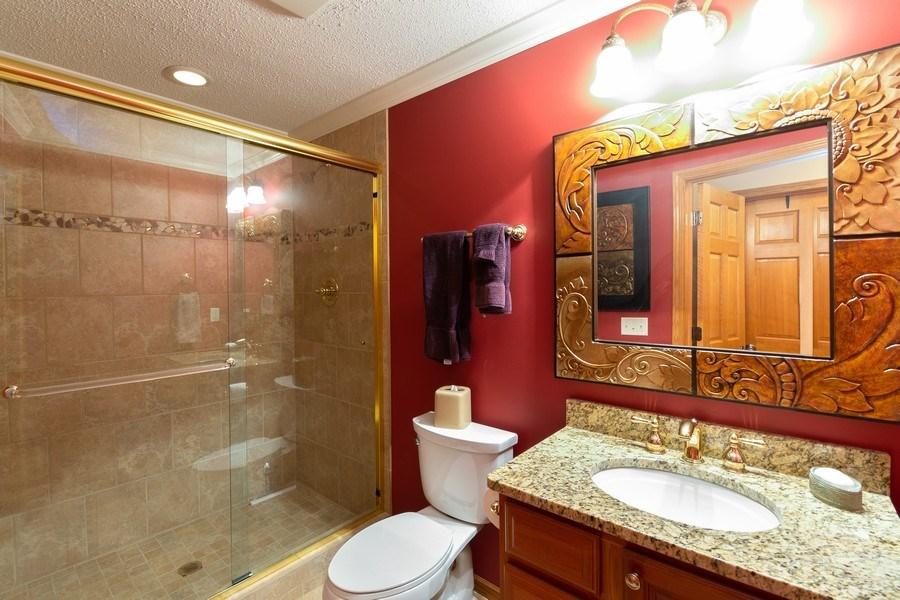 Real Estate Photography - 11860 Germaine Terrace, Eden Prairie, MN, 55347 - 3rd Bathroom