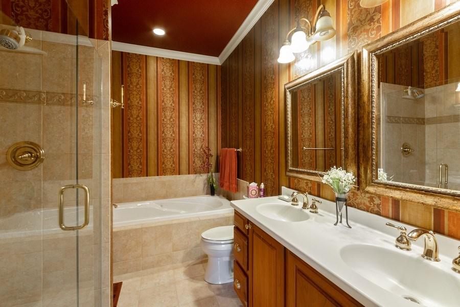 Real Estate Photography - 11860 Germaine Terrace, Eden Prairie, MN, 55347 - Master Bathroom