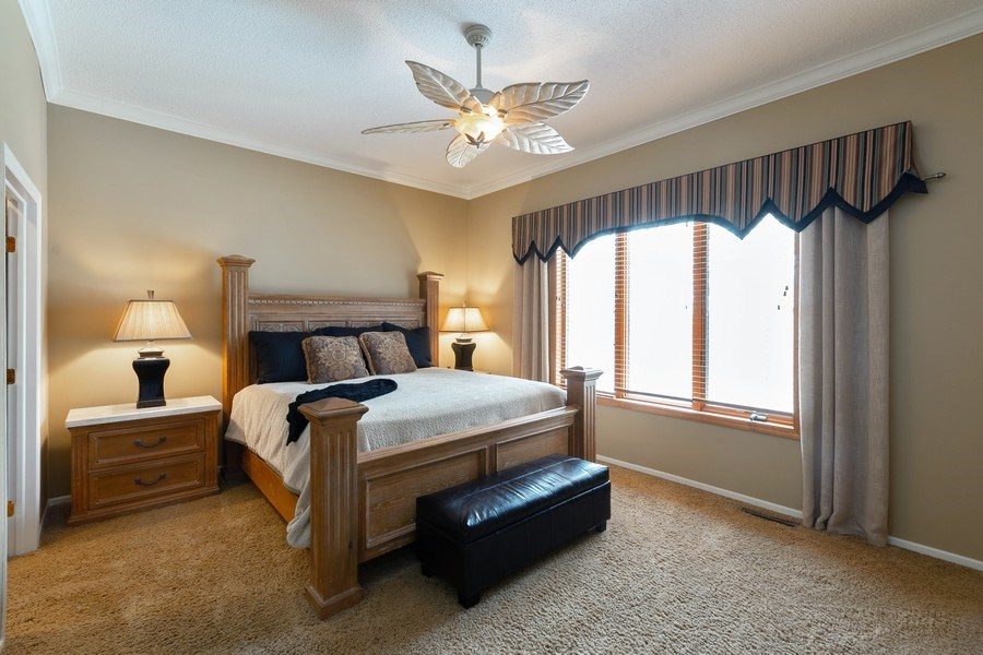 Real Estate Photography - 11860 Germaine Terrace, Eden Prairie, MN, 55347 - Master Bedroom
