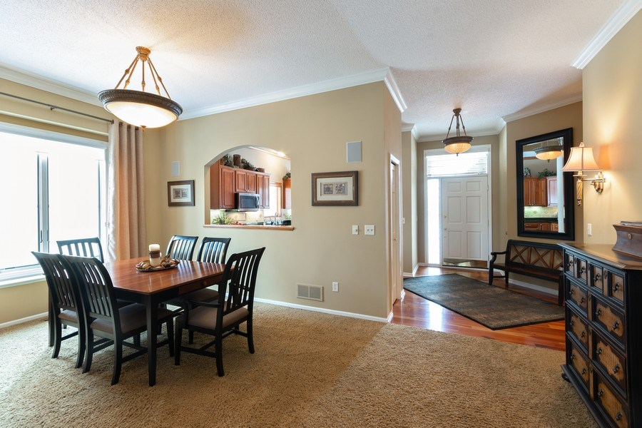 Real Estate Photography - 11860 Germaine Terrace, Eden Prairie, MN, 55347 - Dining Room