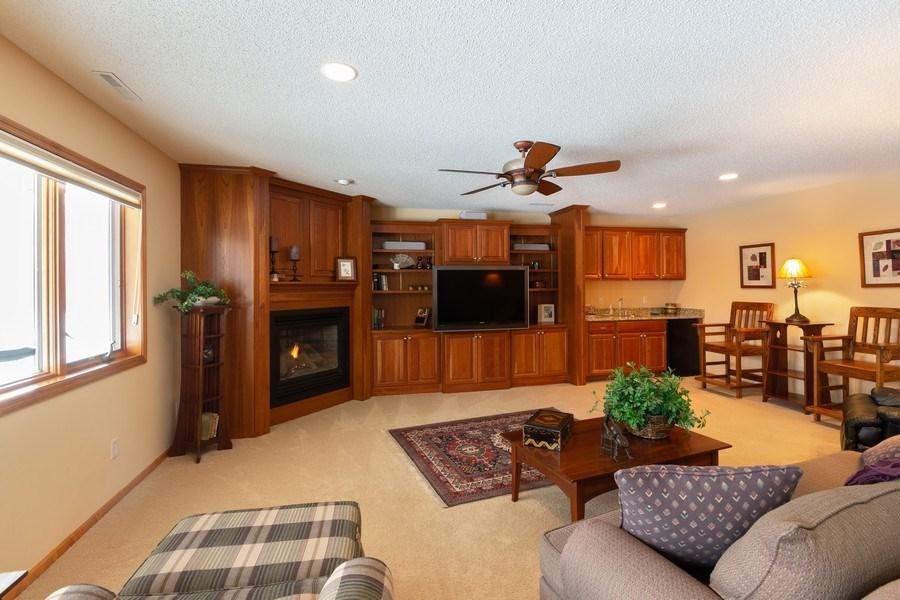 Real Estate Photography - 11860 Germaine Terrace, Eden Prairie, MN, 55347 - Family Room
