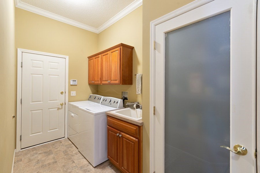Real Estate Photography - 11860 Germaine Terrace, Eden Prairie, MN, 55347 - Laundry Room
