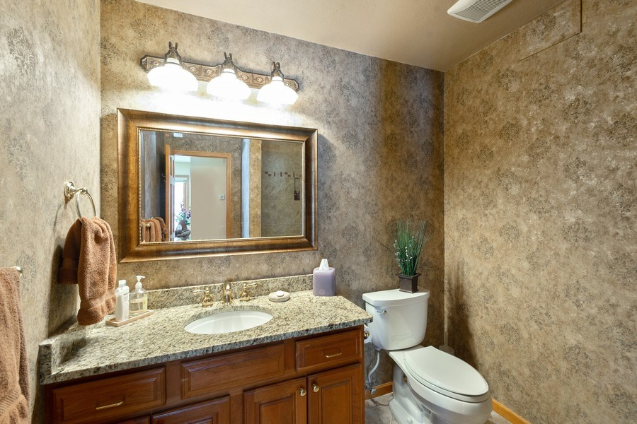 Real Estate Photography - 11860 Germaine Terrace, Eden Prairie, MN, 55347 - 2nd Bathroom
