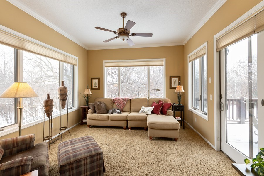 Real Estate Photography - 11860 Germaine Terrace, Eden Prairie, MN, 55347 - Sun Room