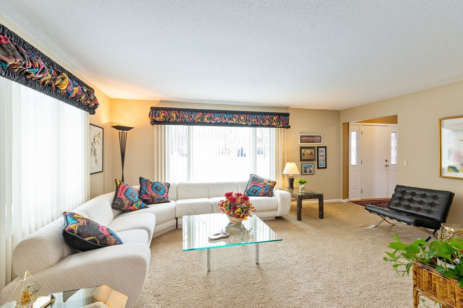 Real Estate Photography - 8137 Pennsylvania Circle, Bloomington, MN, 55438 - Living Room