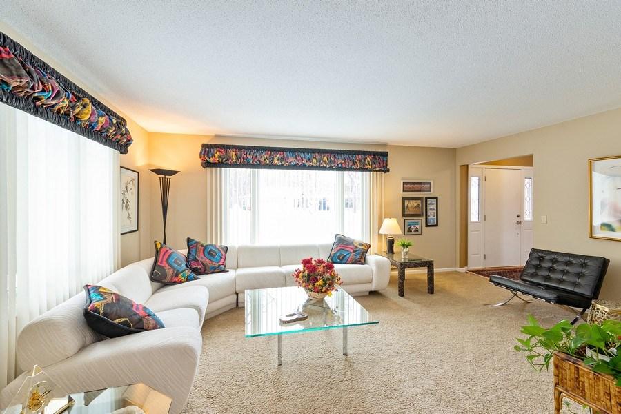Real Estate Photography - 8137 Pennsylvania Circle, Bloomington, MN, 55438 - Living Room