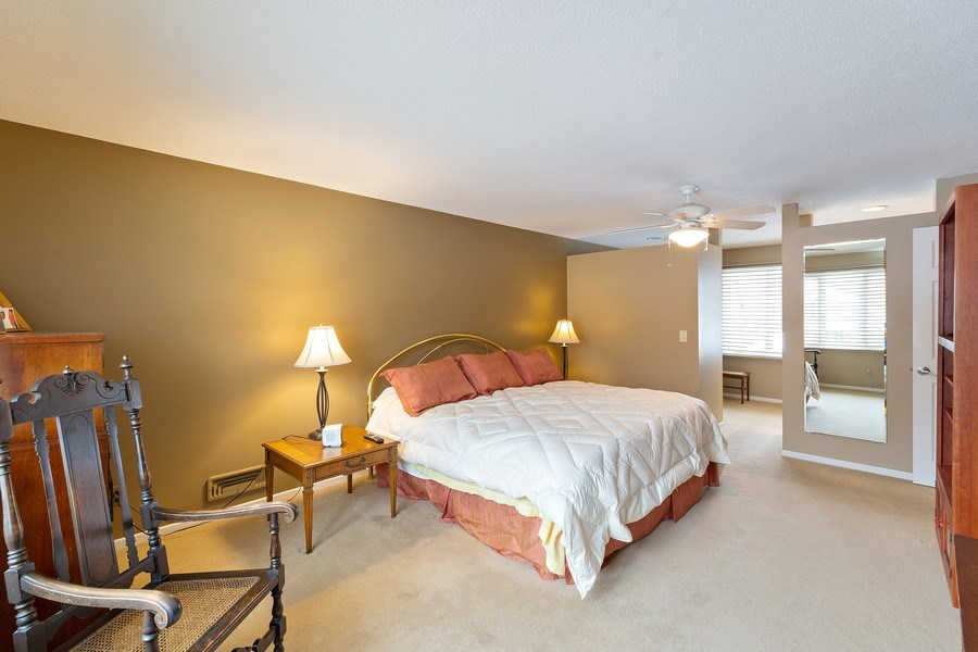 Real Estate Photography - 8137 Pennsylvania Circle, Bloomington, MN, 55438 - Master Bedroom