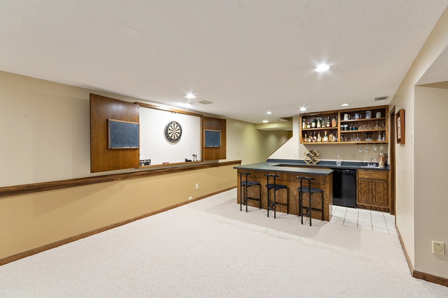Real Estate Photography - 8137 Pennsylvania Circle, Bloomington, MN, 55438 - Recreational Room