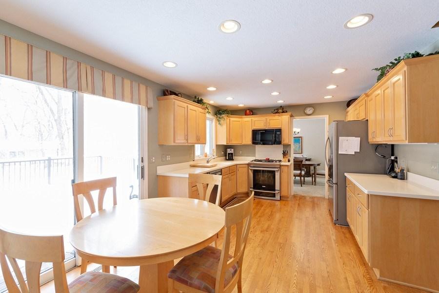 Real Estate Photography - 8137 Pennsylvania Circle, Bloomington, MN, 55438 - Kitchen / Breakfast Room