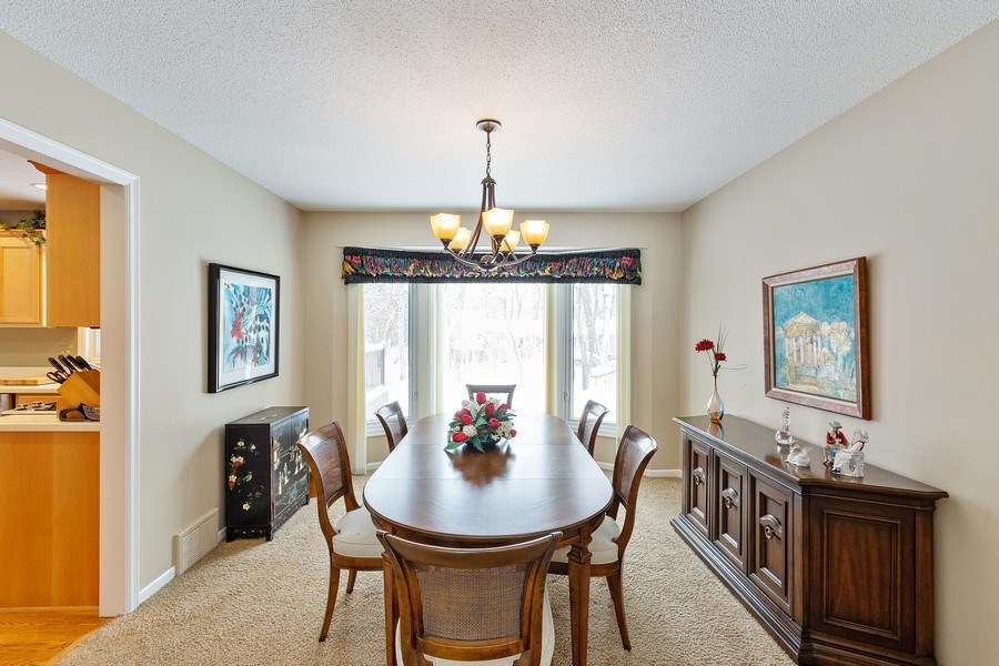 Real Estate Photography - 8137 Pennsylvania Circle, Bloomington, MN, 55438 - Dining Room