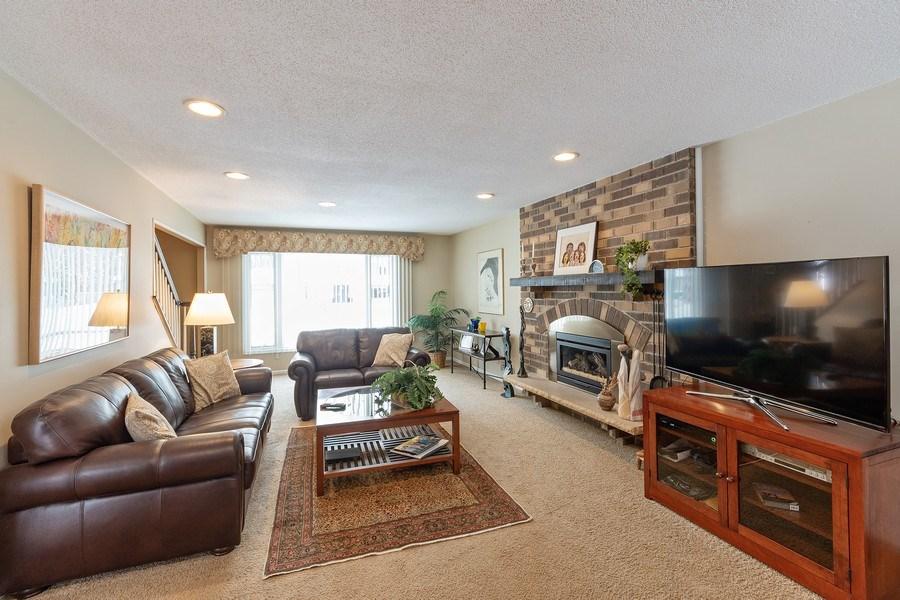 Real Estate Photography - 8137 Pennsylvania Circle, Bloomington, MN, 55438 - Family Room