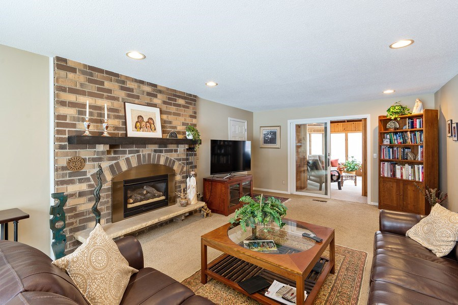Real Estate Photography - 8137 Pennsylvania Circle, Bloomington, MN, 55438 - Family Room
