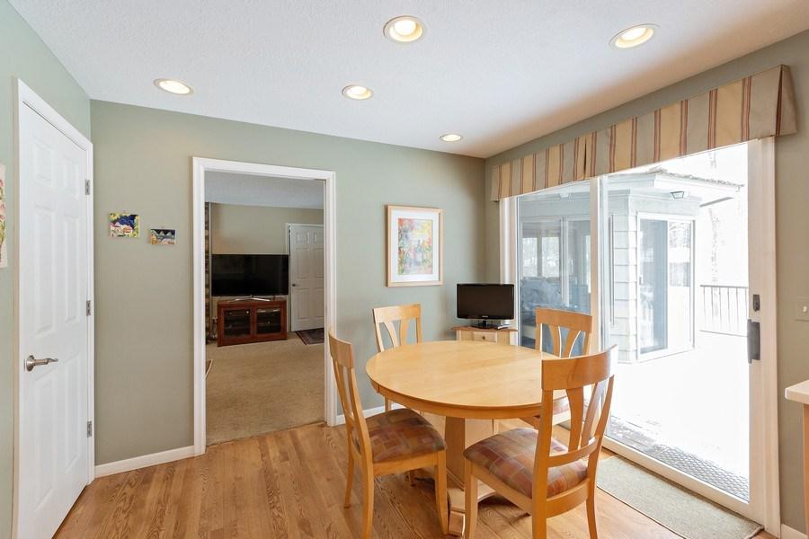 Real Estate Photography - 8137 Pennsylvania Circle, Bloomington, MN, 55438 - Breakfast Area