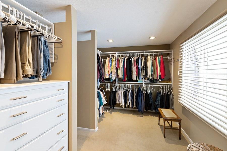 Real Estate Photography - 8137 Pennsylvania Circle, Bloomington, MN, 55438 - Master Bedroom Closet