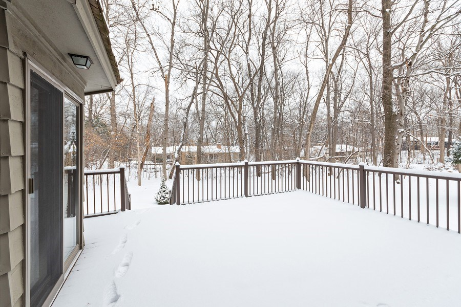 Real Estate Photography - 8137 Pennsylvania Circle, Bloomington, MN, 55438 - Deck