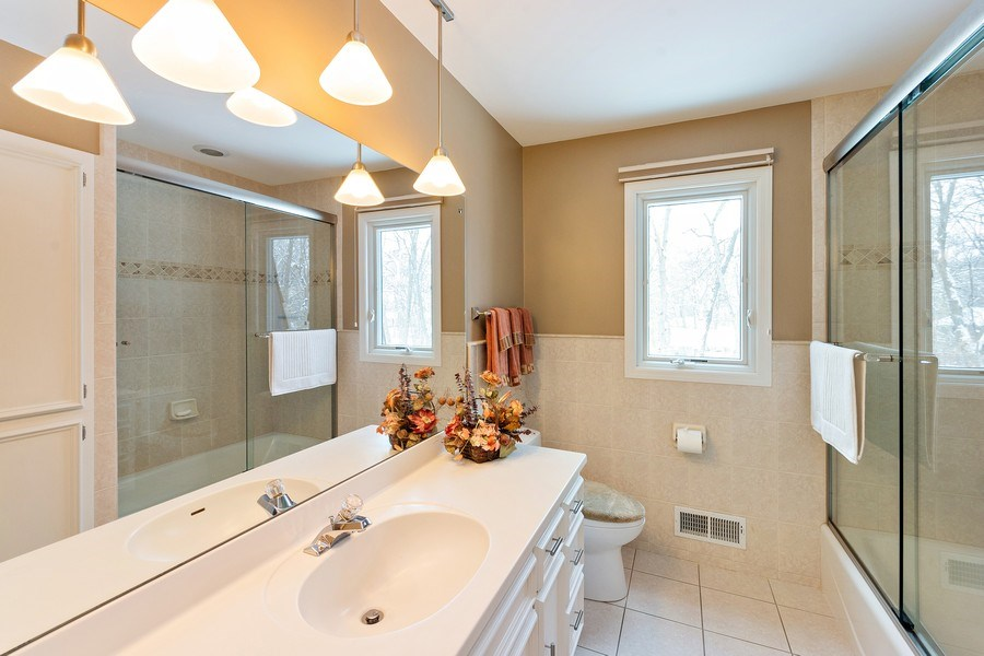 Real Estate Photography - 8137 Pennsylvania Circle, Bloomington, MN, 55438 - Bathroom