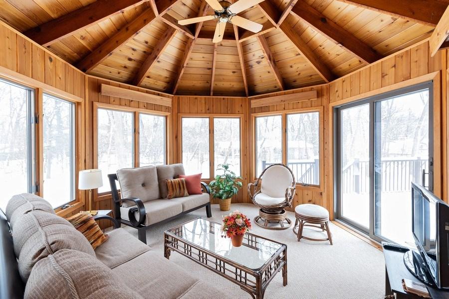 Real Estate Photography - 8137 Pennsylvania Circle, Bloomington, MN, 55438 - Sun Room