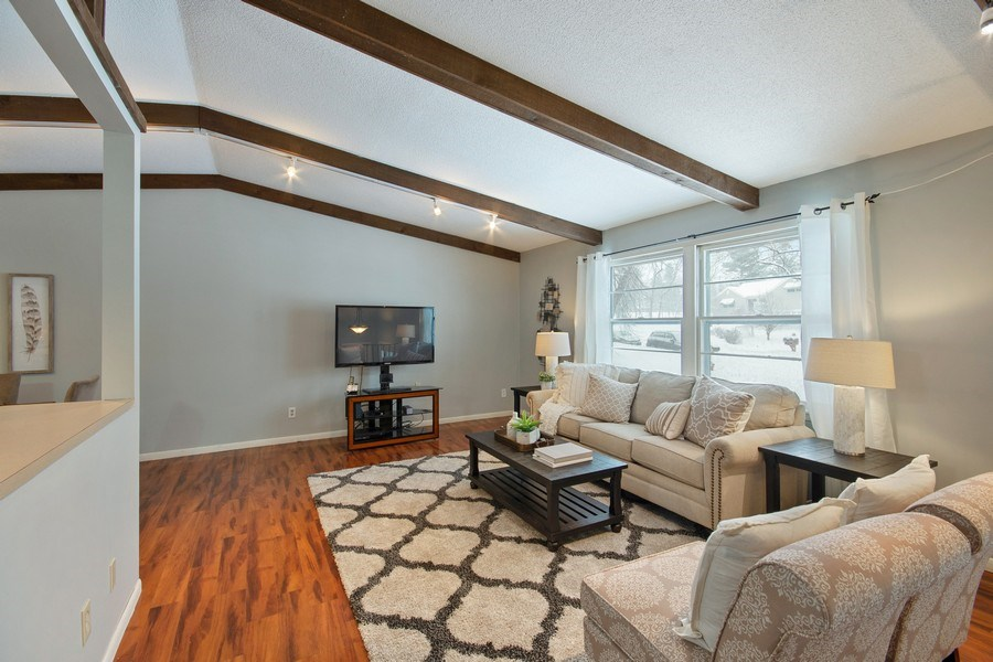 Real Estate Photography - 6210 Cypress Drive, Excelsior, MN, 55331 - Living Room